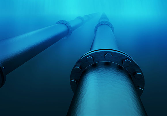 FERC Filing for an Underwater High Pressure Gas Transmission Pipeline